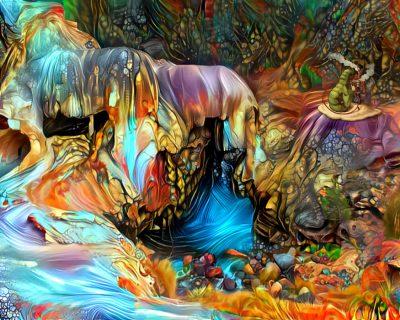 By the Stream in Wonderland