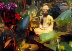 Gsrden Buddha