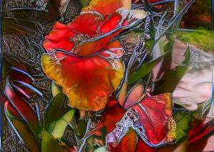 Flash Frozen Flower