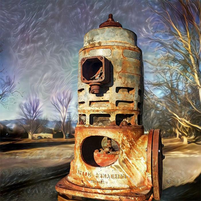 Industrial Graven Idol